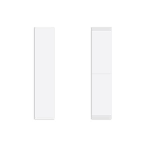 3M 3M Clear tape strips 19mm
