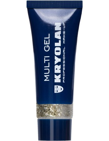 Kryolan Multigel Glitter type Coarse kleur gold