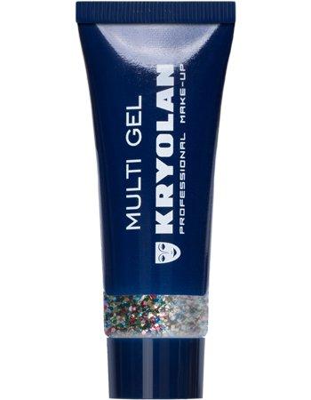 Kryolan Multigel Glitter Kleur Coarse Multicolor
