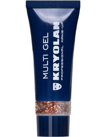Kryolan Multigel Glitter Kleur Coarse Copper