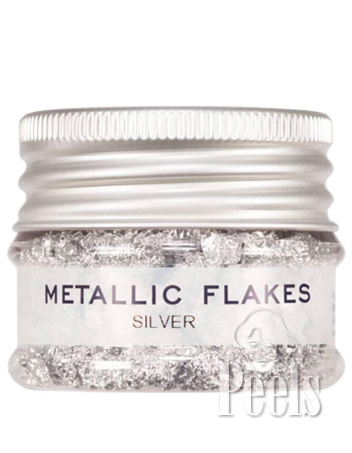 Kryolan Silver Metallic Flakes