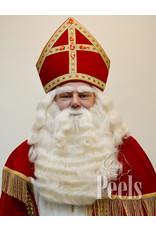 Peels haarmode Sint baard en pruik Yak