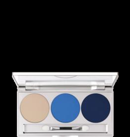 Kryolan Eye Shadow Trio Set Blue Aura