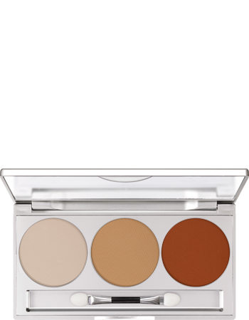 Kryolan Eye Shadow Trio Set Dunes Matt