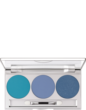 Kryolan Eye Shadow Trio Set Glacier Matt / Iridescent