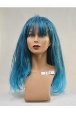 Peels haarmode Blauw
