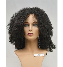 Peels haarmode Zwart