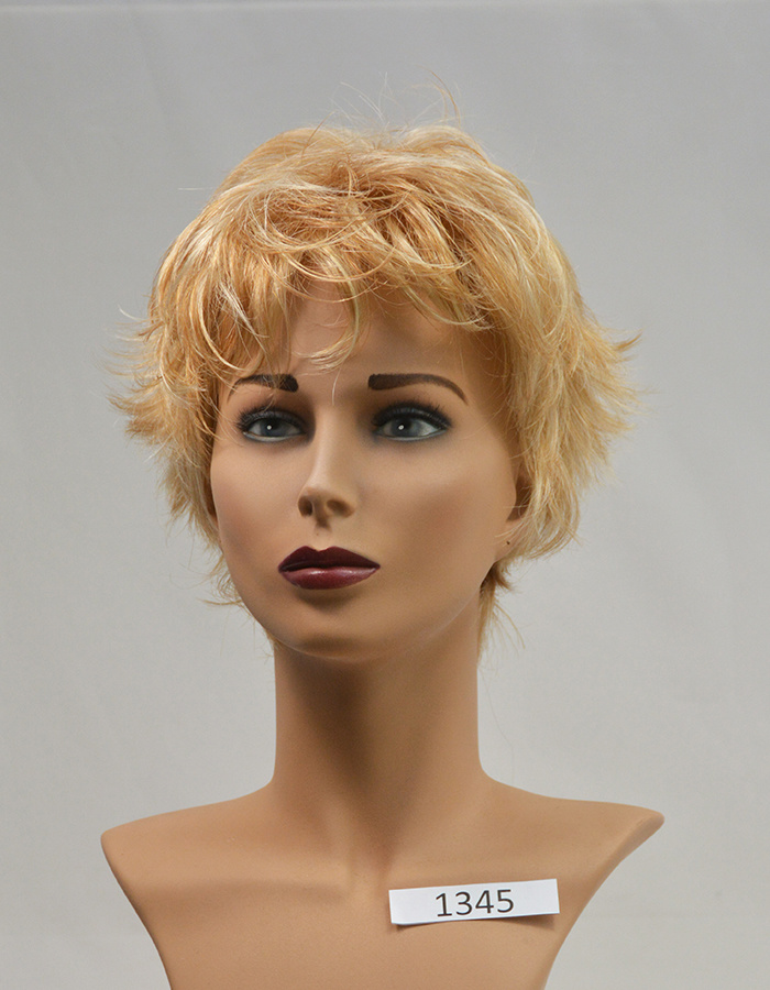 Peels haarmode Licht goud blond
