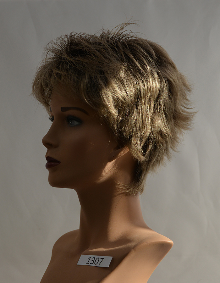 Peels haarmode Middenblond rooted