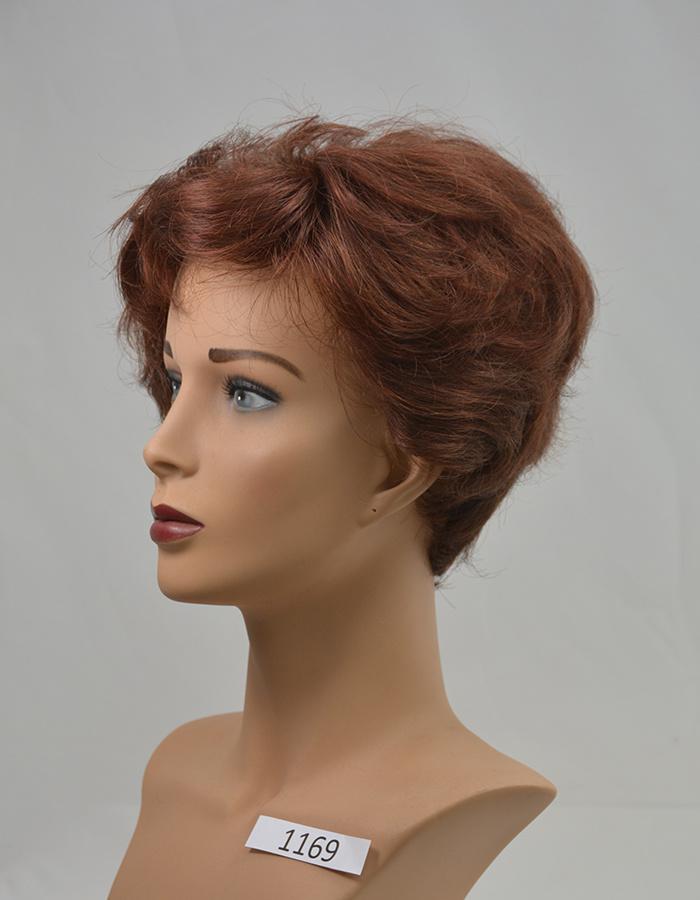 Peels haarmode Mahonie rood
