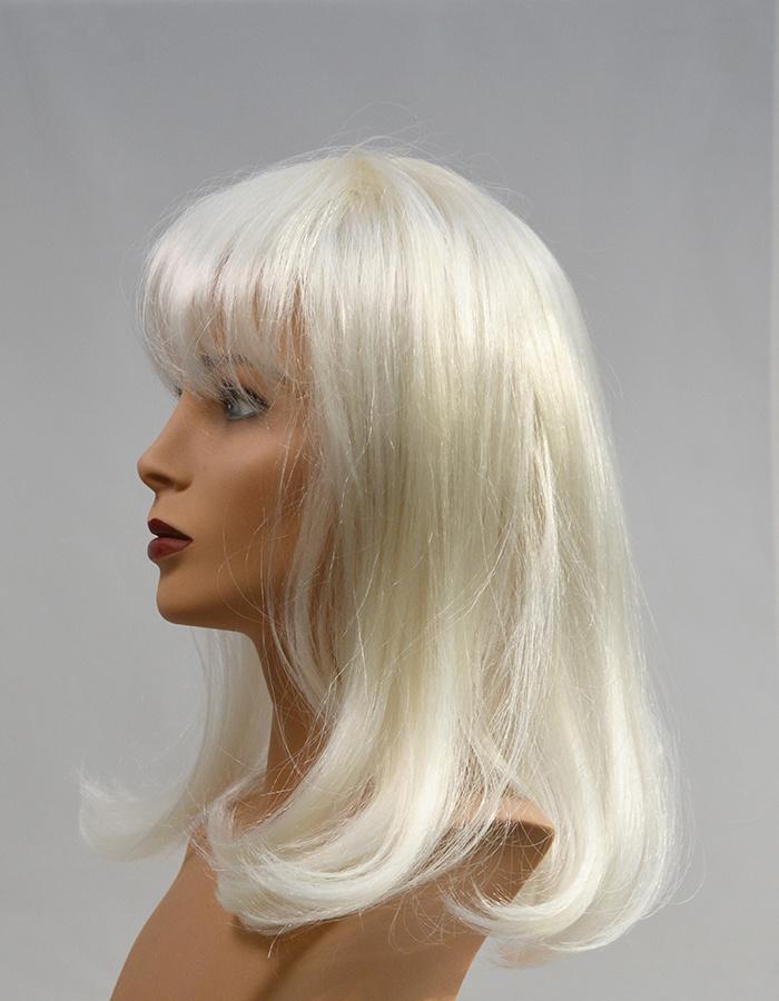 Peels haarmode Wit