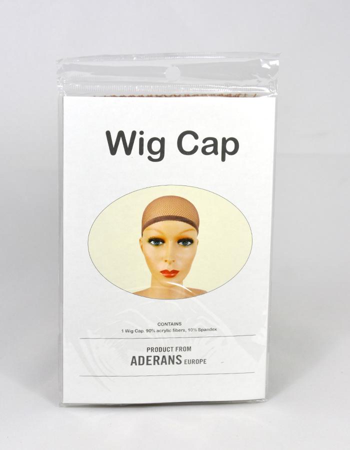 Peels haarmode Wigcap netting bruin