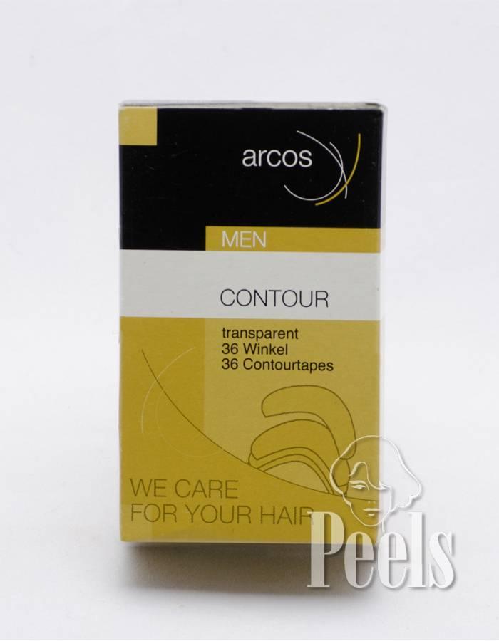 Arcos Arcos contour tape - voorgevormde haarwerkstrips voor makkelijke bevestiging