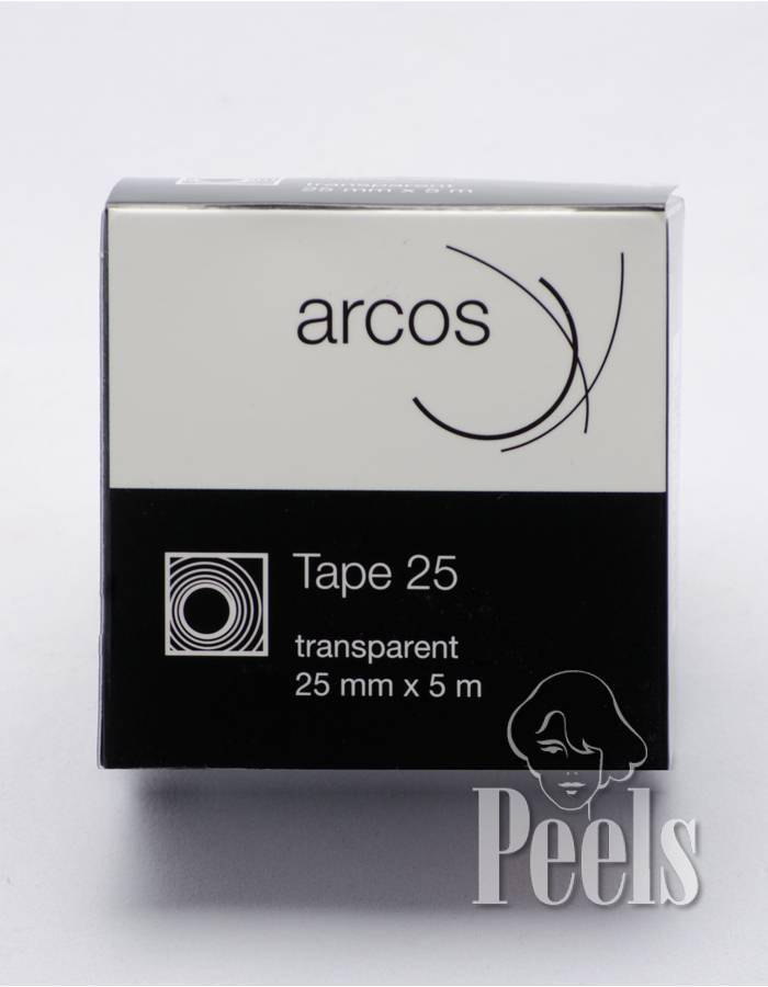 Arcos Arcos Tape rol 5m 25mm. Neutrale haarwerktape voor dagelijkse vervanging