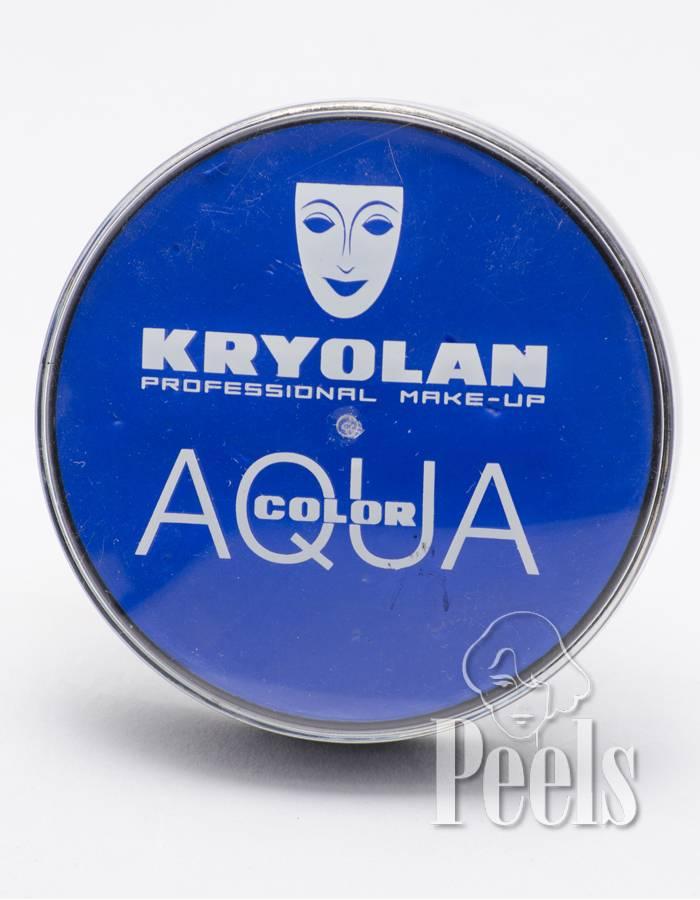 Kryolan Aquacolor 20ml - blauw - kleurcode Blau5