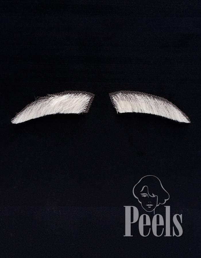 Peels haarmode Sinterklaas wenkbrauwen sluik