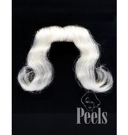 Peels haarmode Sint handgeknoopte snor geknipt