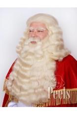 Peels haarmode Sinterklaasbaard en pruik deluxe