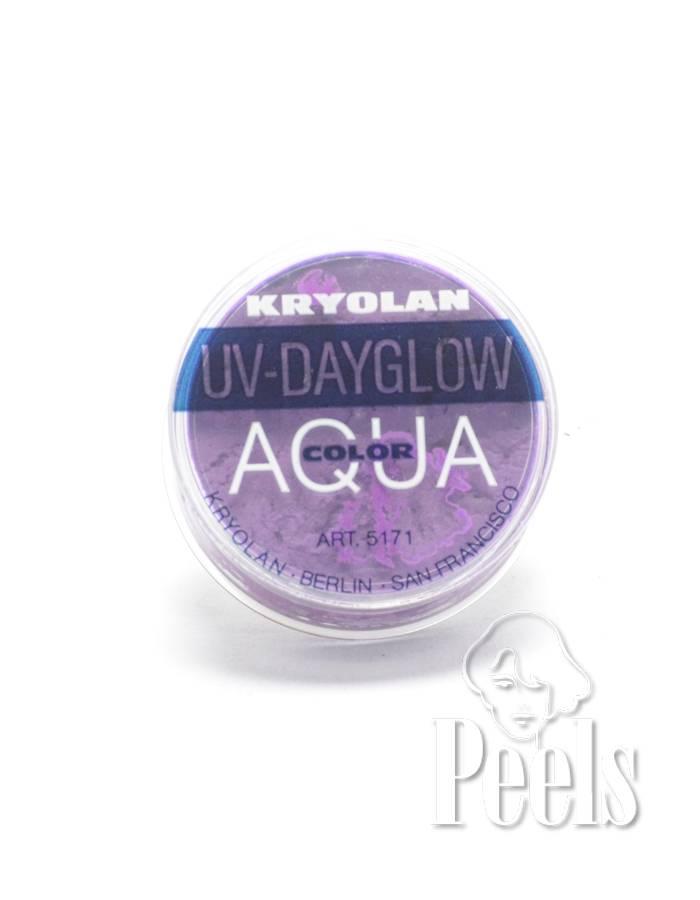 Kryolan Aquacolor UV Dayglow kleur lila