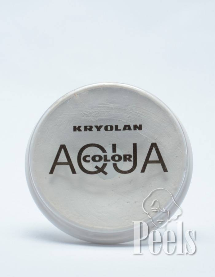 Kryolan Aquacolor 15ml - wit - kleurcode 070