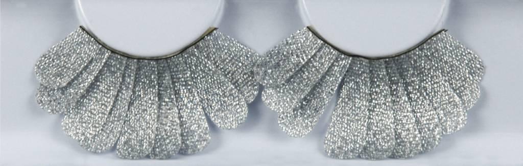 Grimas Zilver-Glitter-Veer Wimpers (157)