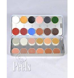 Kryolan Aquacolor palette kleur N