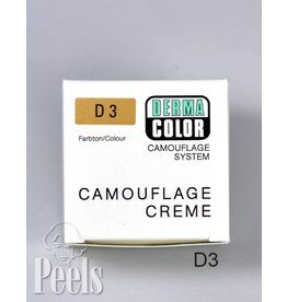 Dermacolor Camouflage Creme, Kleur D3