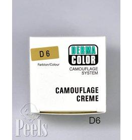 Dermacolor Camouflage Creme, Kleur D6