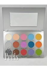 Kryolan Viva Brilliant Color Palette, 15 colors, kleur FR
