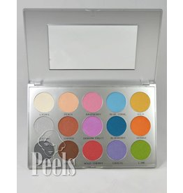 Kryolan Viva Brilliant Color Palette, kleur FR