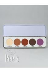 Kryolan Eye Shadow Palette 5 colors kleur M Matt