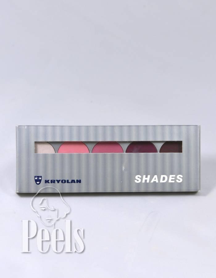 Kryolan Shades, kleur Abu Dhabi, 5 colors