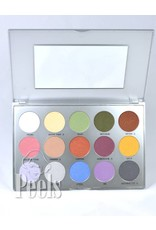Kryolan Eye Shadow Palette 15 colors kleur TN3