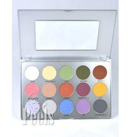 Kryolan Eye Shadow Palette kleur TN3