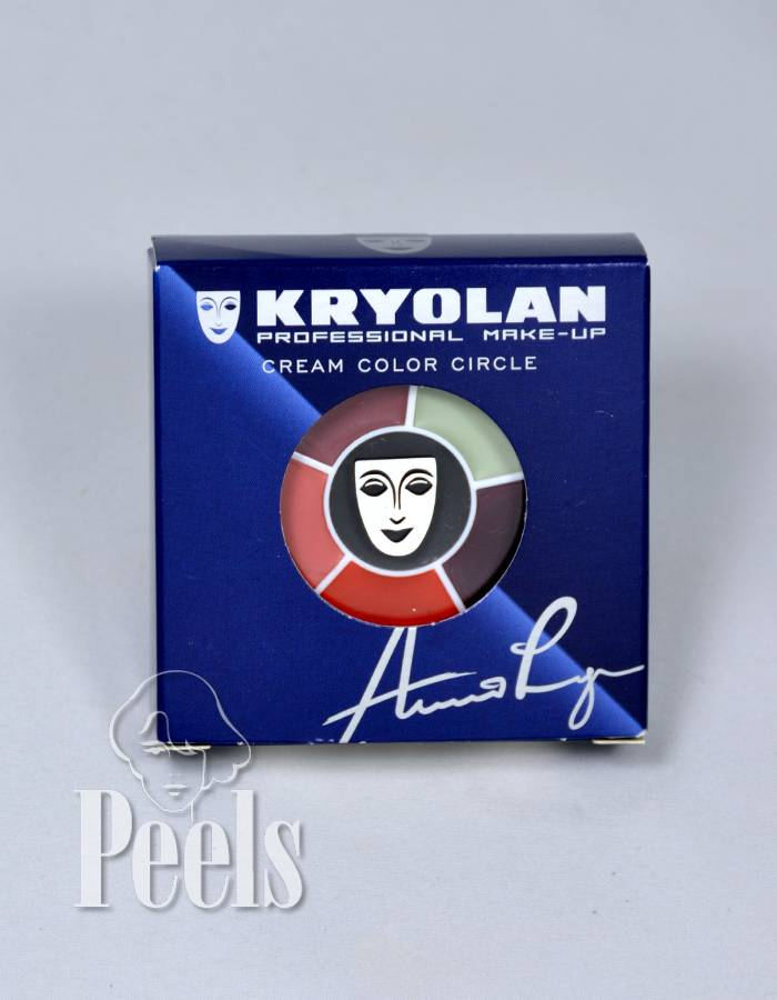 Kryolan Cream color circle, Burn & Injury
