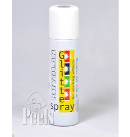 Kryolan Glitter Spray colored silver