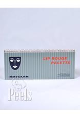Kryolan Lip-rouge palette 24 kleuren classic