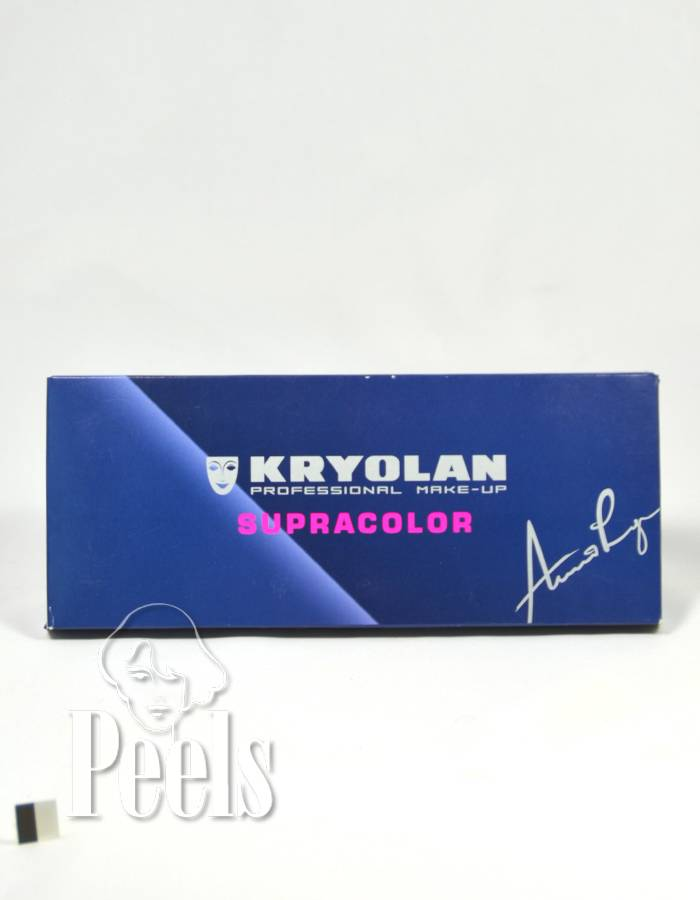 Kryolan Supra color palette 12 colors FP