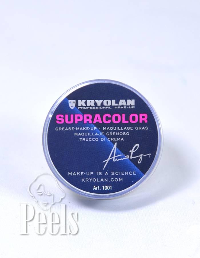 Kryolan Supra Color vetschmink - 8ml - zwart - kleurcode 071