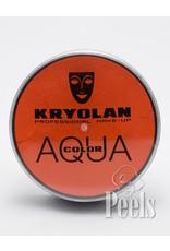 Kryolan Aquacolor 20ml - oranje - kleurcode 288
