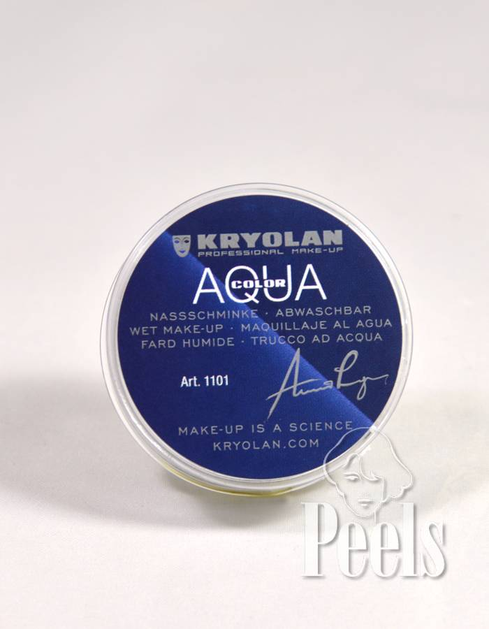 Kryolan Aquacolor 8ml - wit - kleurcode 70