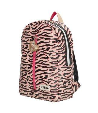 Zebra Meisjes rugzak - roze - 602211
