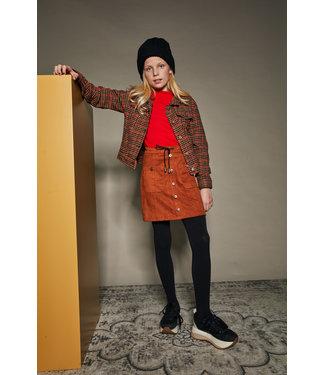 NoBell Meisjes winter broek/rok - Nicka - Cinnamon