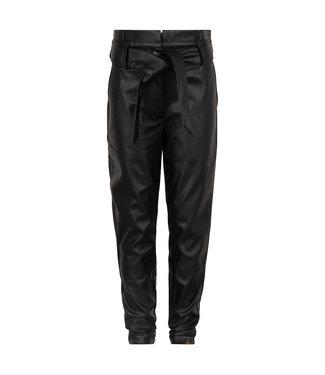 Indian Blue Jeans Meisjes winter broek paperbag - Zwart