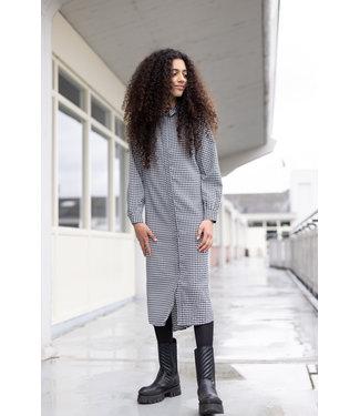 LEVV Meisjes jurk - REGINA W212 - BLWHCHECK
