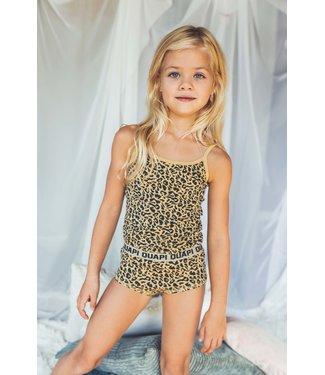 Quapi Meisjes winter ondergoed Pip - AOP animal zand