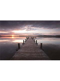 Plexiglas schilderij zonsondergang