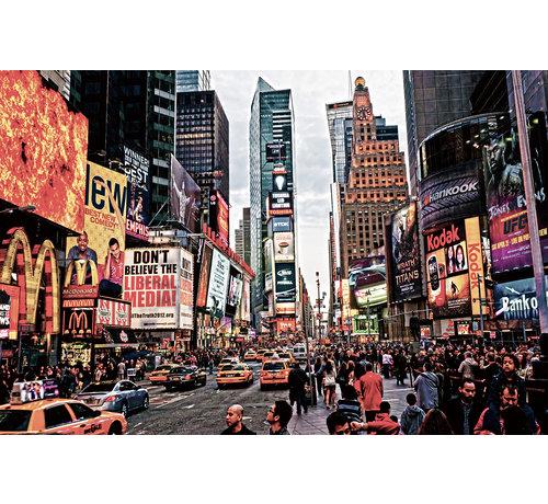 Plexiglas schilderij New York