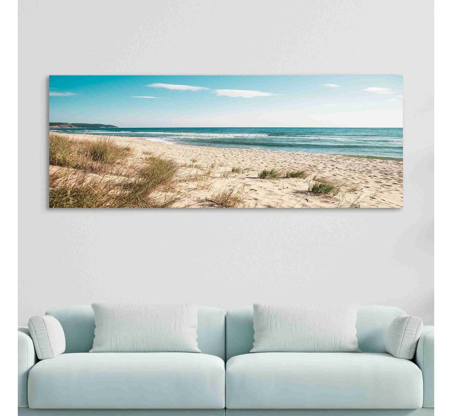 Plexiglas schilderij strand