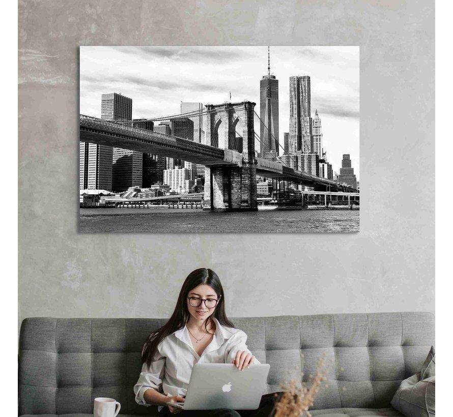 Plexiglas schilderij brug